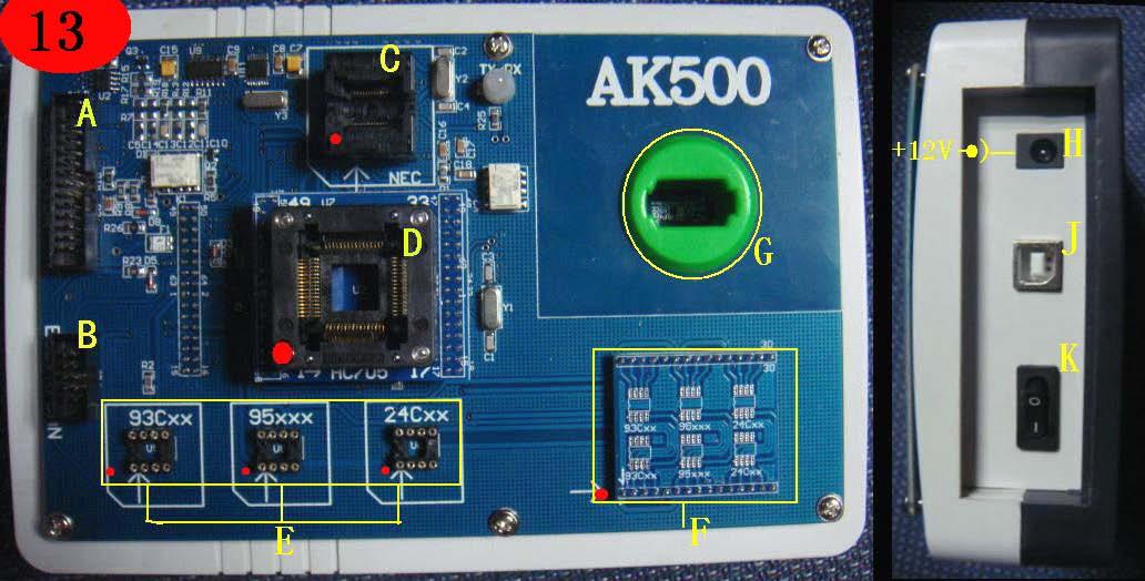 AK500-Key-programcı-donanım-profil