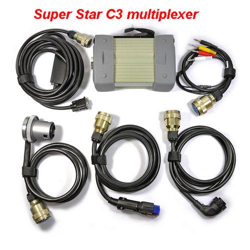 Super Star C3 multiplexer MB Star C3 Mercedes Star Diagnostic Tool Review