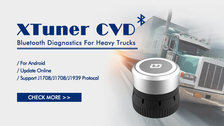 Xtuner CVD Xtuner Truck Diagnostic Adapter 2 XTUNER CVD 9/6 V13.1 Xtuner CVD Software Update Functions