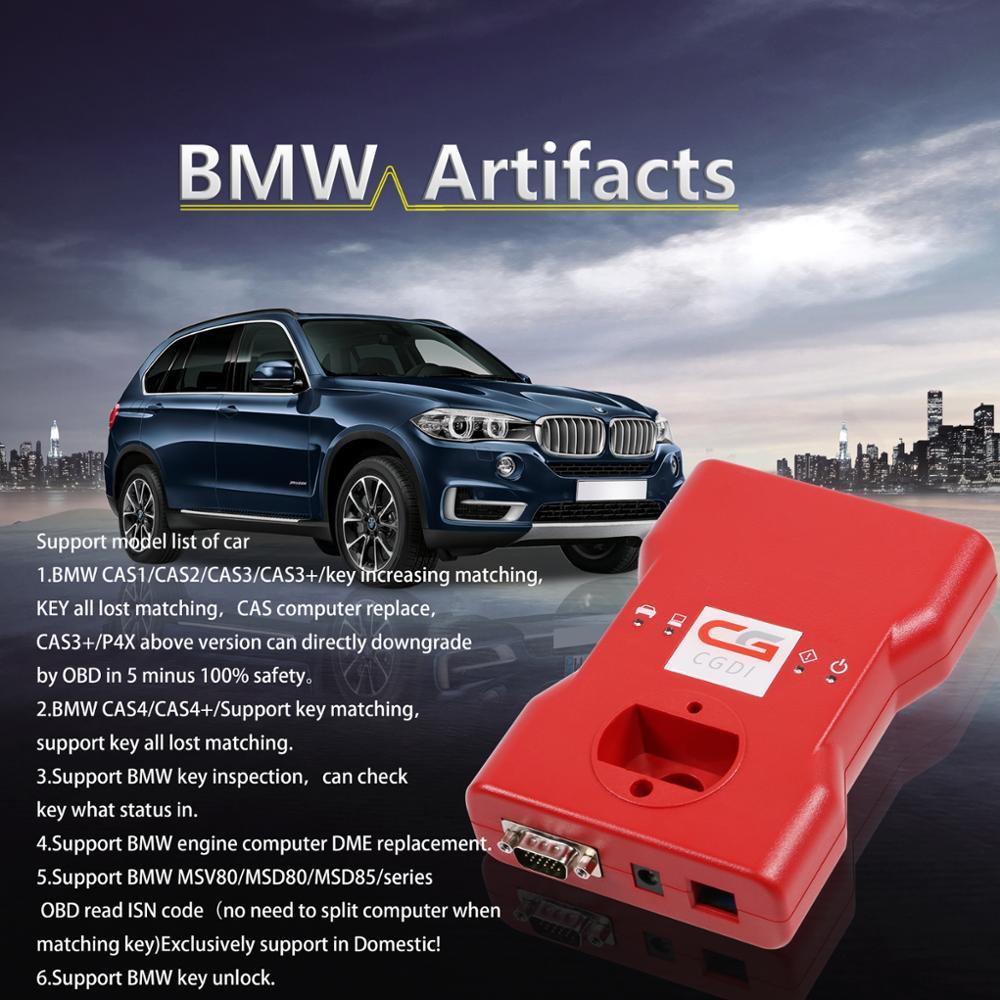 CGDI Car Key Programmer CGDI for BMW CAS4 CGDI Prog BMW MSV80 BMW Key Programmer Activation Guide