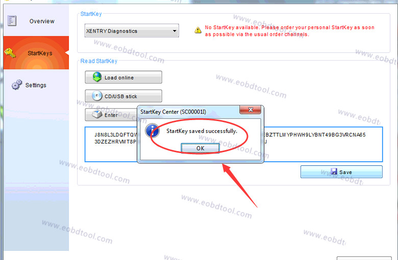 xentry 2012 no access authorization code