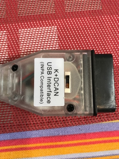 bmw inpa ediabas bmw k dcan usb interface INPA K+DCAN Interface VS. Rheingold for BMW Diagnostic Tools