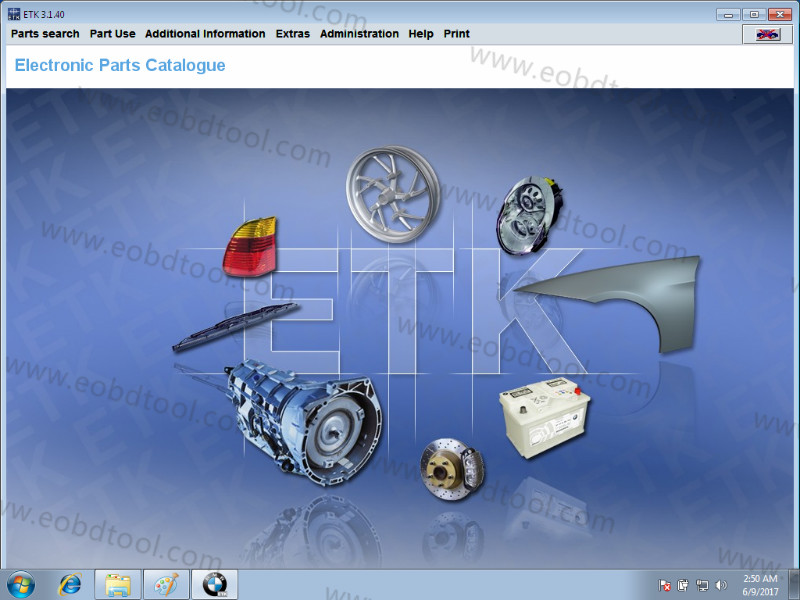 Rheingold BMW Diagnostic Software BMW ISTA software for BMW Scanner 5 2017.09 BMW ICOM Software BMW Diagnostic Rheingold ISTA Software
