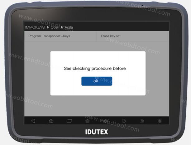 Vpecker E4 Vpecker tablet Vpecker Easydiag Vpecker Scanner 4 How to Use Vepecker E4 Work for Opel Agila Key Programming?