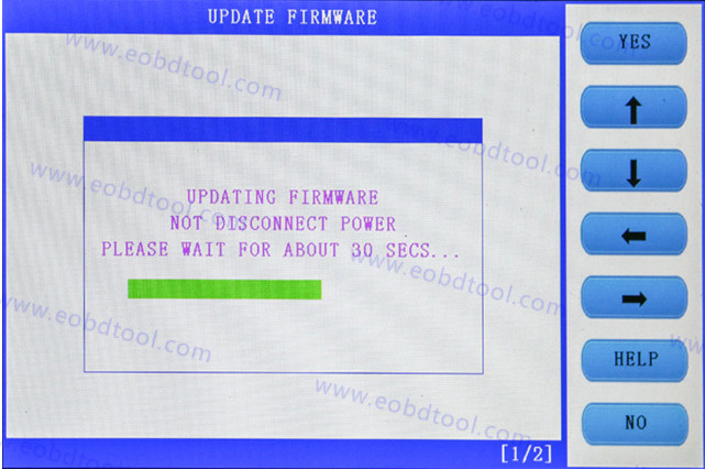 skp1000 software update guide 4 How to Update SKP1000 Tablet Auto Key Programmer?