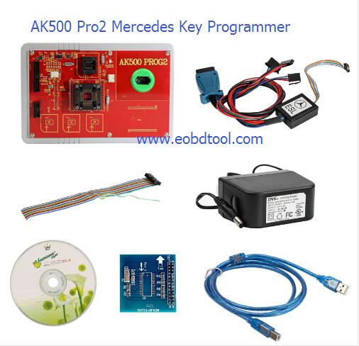 Ak500 pro2 Mercedes Key Programmer 1 AK500 Prog2 Key Programmer AK500 Prog2 Mercedes Key Programming Tool
