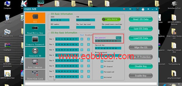 CGDI for MB mercedes key programming 4 How to use CGDI Prog MB Mercedes Key Programming Tool for All Key Lost