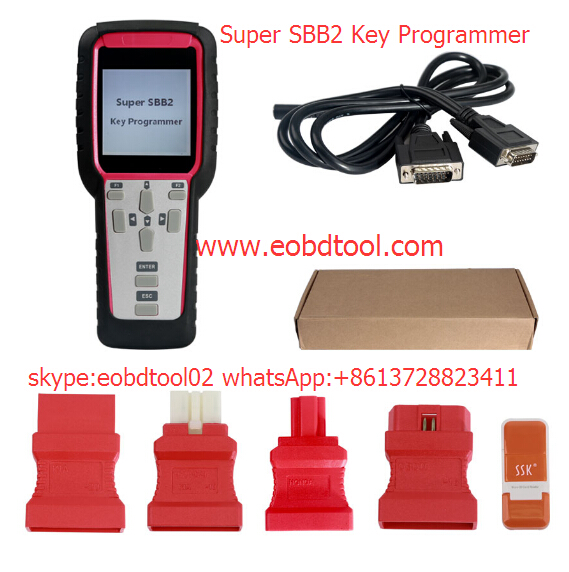 Super SBB2 Key programmer Super SBB2 Key Programmer VS. SBB Silca VS. CK100 V46.20