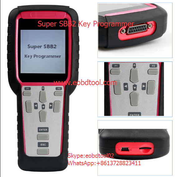 Super SBB2 key programmer 2 Super SBB2 Key Programmer VS. SBB Silca VS. CK100 V46.20