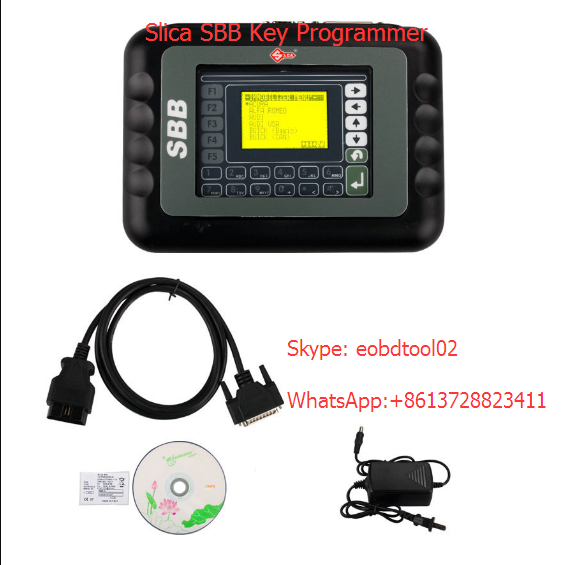 slica sbb key programmer Super SBB2 Key Programmer VS. SBB Silca VS. CK100 V46.20