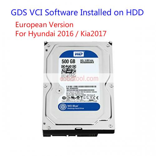 GDS VCI V19 Software for Kia/Hyundai Diagnostic Software