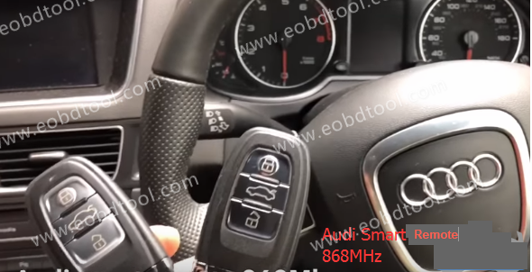 OBDSTAR X300 DP Program Audi Q5 3 OBDSTAR X300 DP Program Audi Q5 2011 5th IMMO Smart Remote