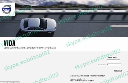 volvo vida dice 2014D 3 Volvo Vida Dive 2014D Software Fail to log in Solution