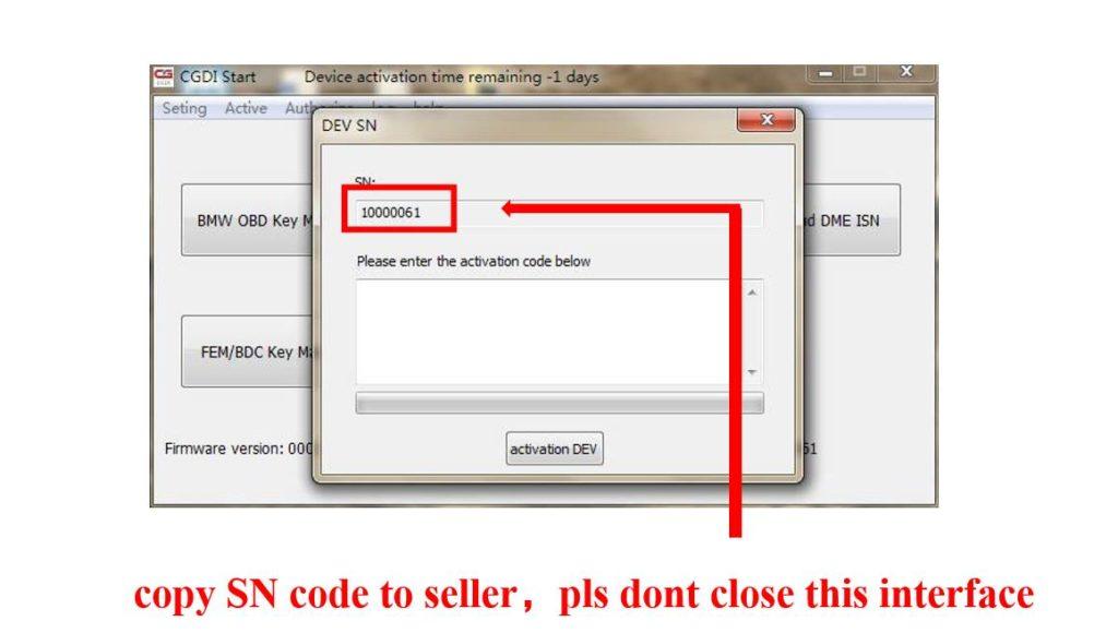 CGDI Prog BMW MSV80 BMW Key Programmer Activation Guide 3 CGDI Prog BMW MSV80 BMW Key Programmer Activation Guide
