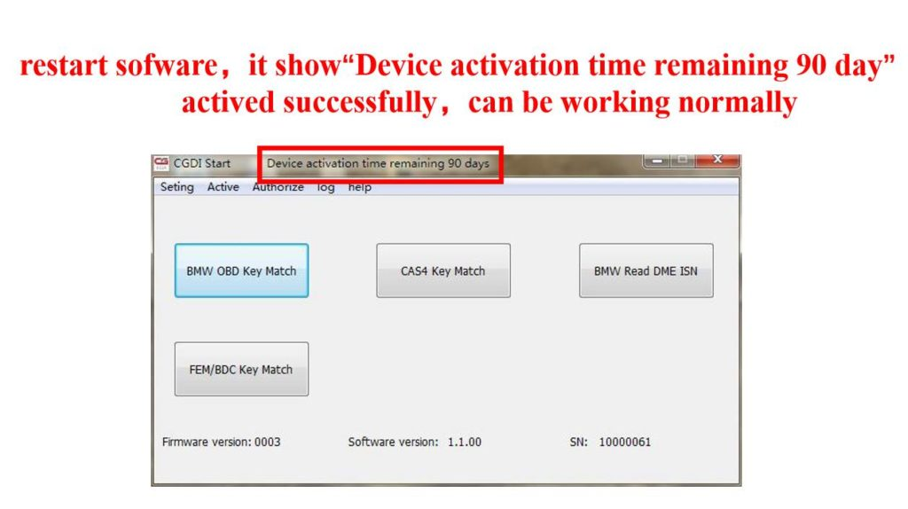 CGDI Prog BMW MSV80 BMW Key Programmer Activation Guide 8 CGDI Prog BMW MSV80 BMW Key Programmer Activation Guide
