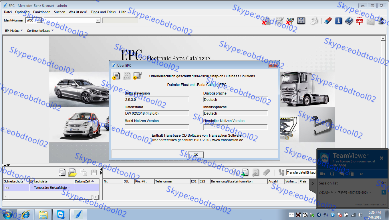 Mercedes EPC WIS MB Star Diagnostic Xentry Software 05/2018 Version Released