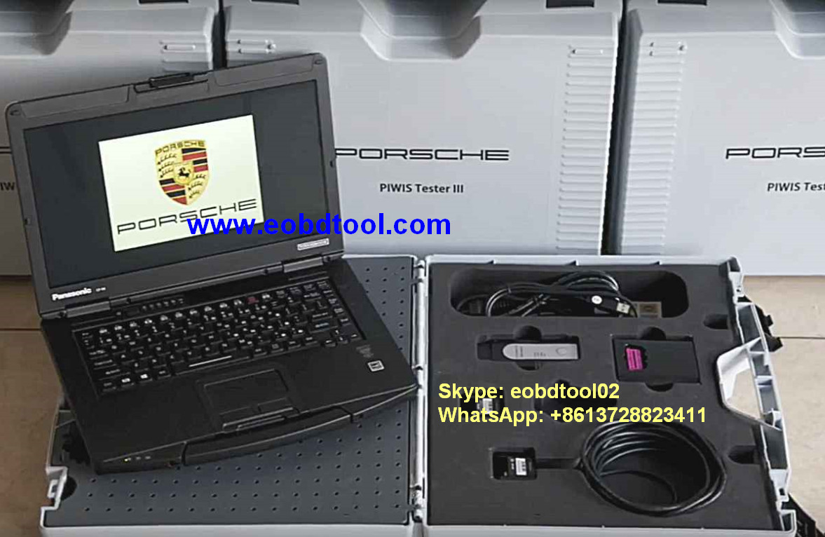 PIWIS 3 Porsche VCI3 Porsche PIWIS Tester III with Panasonic CF 54 eobdtoolcom Porsche PIWIS III with V37.250.020 Piwis 3 Software Update New Feature