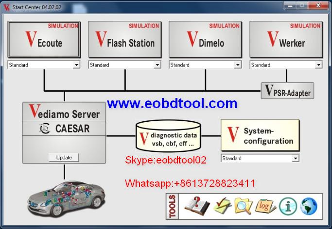 Vediamo VS DTS V8 Monaco 2 Star Diagnostic Mercedes Vediamo VS. DTS Monaco