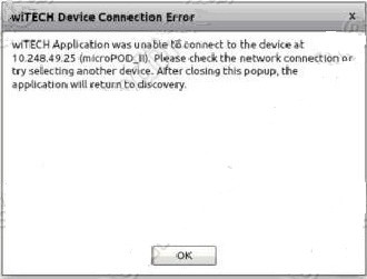 wiTEch Device Connection Error wiTECH2 Chrysler Micropod 2 Connection Error Solution