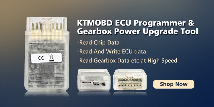 KTMOBD ECU Programmer KTMOBD ECU Programmer & Transmission Power Upgrade Tool Plug and Play