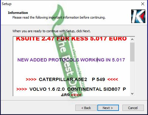 Kess v2 Ksuite V2.47 and Ksuite V2.23 1 Kess v2 K suite 2.47 Software 5.017 Firmware Compatible with Kess v2 2.23?