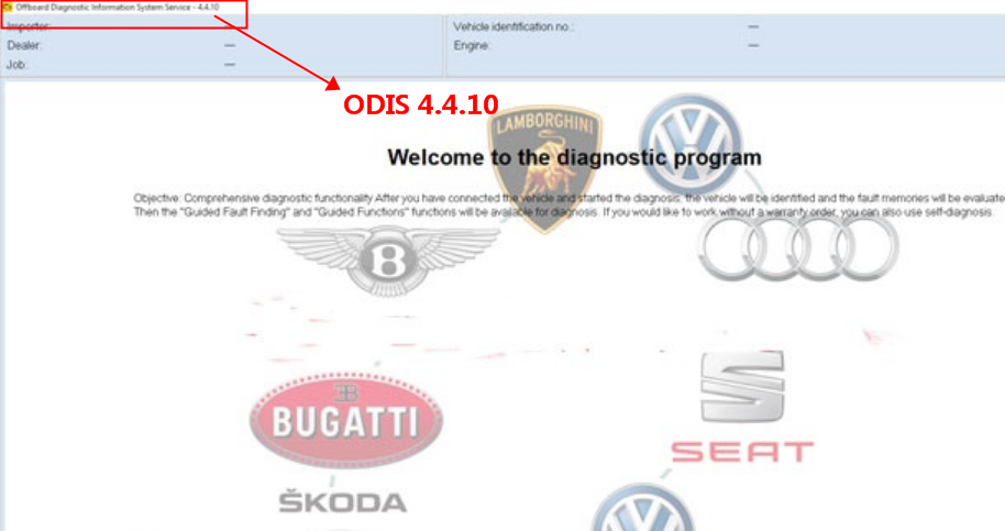 ODIS 4.4.10 ODIS 4.4.10 Software Download Free & Installation Guide