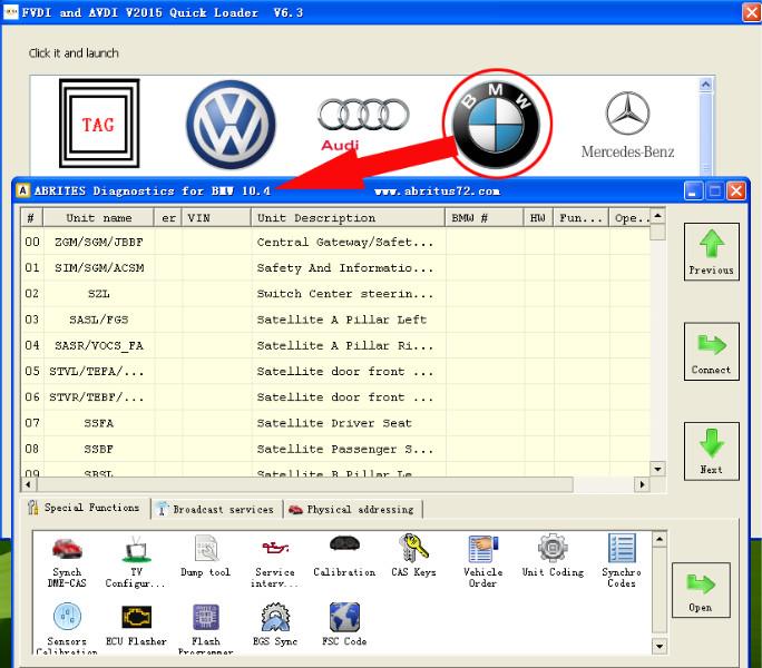 FVDI BMW ABRITES Commander