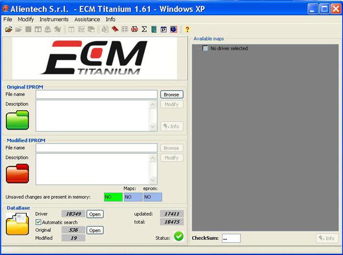 Ecm Titanium V1 61