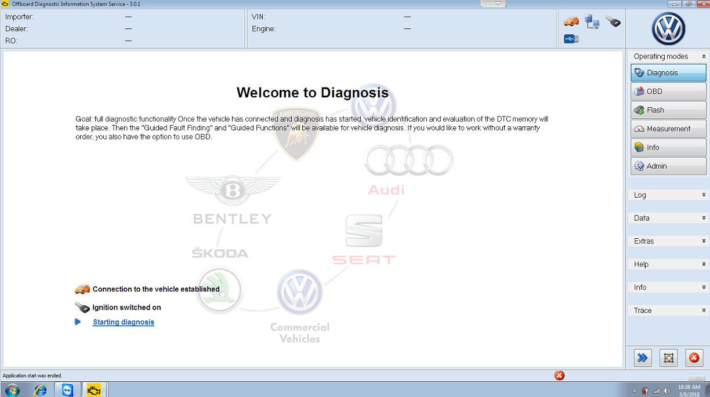 ODIS 4 1 4, Elsawin 5 3, VW Audi etka parts catalogue V7 5 plus 3 in