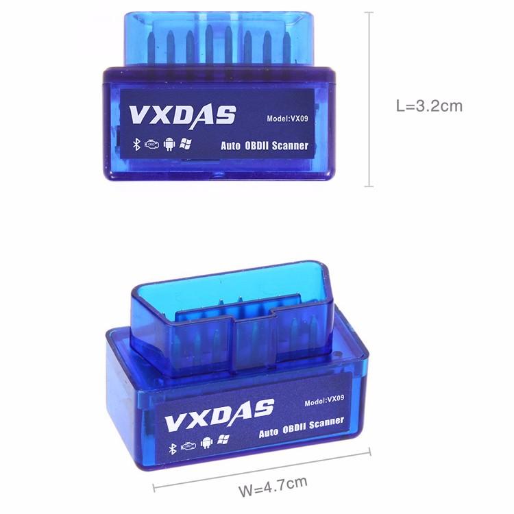 VXDAS VX09 Auto OBDII Scanner
