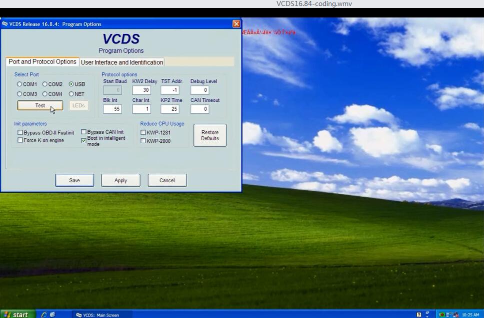VAG COM VCDS 16.84 Coding Display