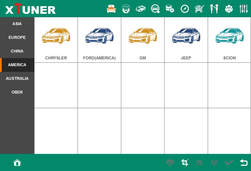 Xtuner e3 wifi Vehicle Coverage America