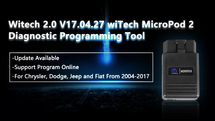 20171110161110 58115 How to Installed wiTECH Micropod 2 V17.04.27 Online Version Software