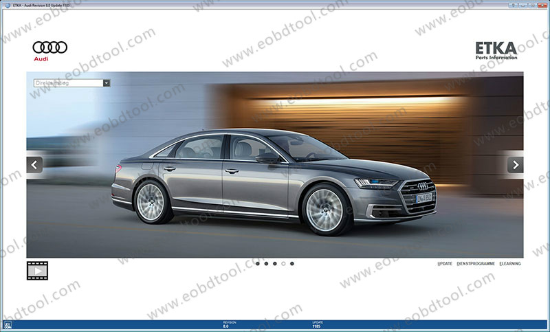 20171207112600 10933 ETKA 8 2017 Audi/VW ETKA Online Electronic Catalogue Download for sale