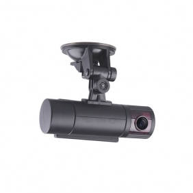 Supplier X2000 Car DVR GPS , 2012 New Design Car DVR Camera with Dual Lens + 3D G-Sensor