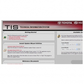 Supplier Toyota ECU Flash Reprogramming DVD