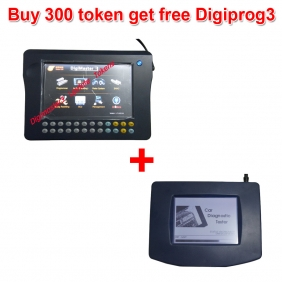 Supplier Buy 300 Tokens for Digimaster 3/CKM100/CKM200 Get Free Digiprog 3 Full Set