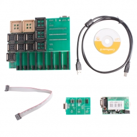 Supplier 2012 New UPA USB Programmer V1.2 with Full Adaptors Green Color