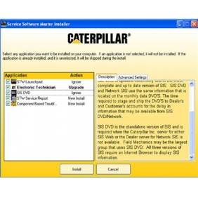 Supplier Caterpillar SIS 2013.1 (including one time free active)