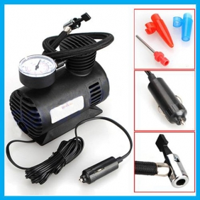 Supplier 12V Car Auto Electric Portable Pump Air Compressor Tire Inflator Tool 100 PSI