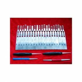 Supplier LISHI Series Lock Pick Set 31 in 1