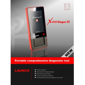 Supplier Original Launch X-431 X431 DIAGUN III Newest Update Online