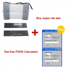 Supplier Promotion:Buy Super MB Star 2013.03 Version Get Free BENZ FDOK Calculator (ends on April 30th)