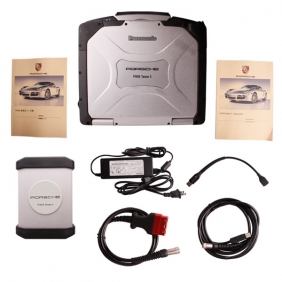 Supplier Porsche Diagnostic Tool Piwis Tester 2 with  Panasonic CF30 Tablet Full set Ready to Use