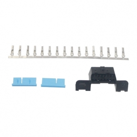 Supplier OBD2 16Pin Female Connector Free Shipping