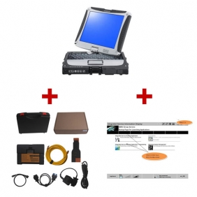 Supplier BMW ICOM A2+B+C with Panasonic CF 30 full set  with 2015.08 Software