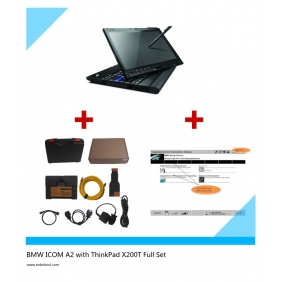 Supplier BMW ICOM A2+B+C ThinkPad X200T Touch Screen with latest 2014.07 Rheiggold Software
