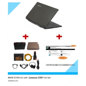Supplier BMW ICOM A2+B+C with Brand New Lenove E49A with Win 8.1 SSD Software full set Ready to use