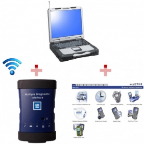 Supplier High Quality WIFI GM MDI Tech3 Tech 3 Multiple Diagnostic Interface With Panasonic CF 30 Laptop Full Set Ready To Use