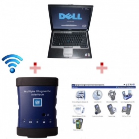 Supplier High Quality WIFI GM MDI Tech3 Tech 3 Multiple Diagnostic Interface With Dell D630 Laptop Full Set Ready To Use